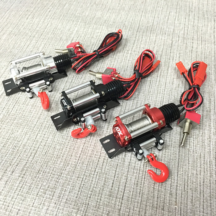 RC Parts Electric winch For 1/10 D90 D110 Axial Scx10<br>