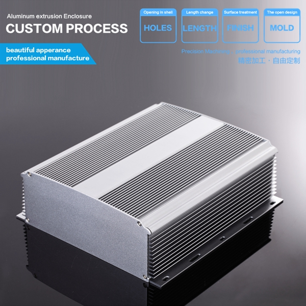 YGS-026-2 234*80.6*250mm Manufacturers of making aluminum metal enclosures for electronics<br><br>Aliexpress