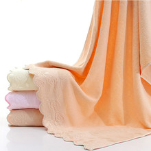 70x140cm Home Towel Super soft Water absorption Rose lace Bath towel 3 colors free shipping