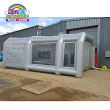 Standard Size Portable Inflatable Airbrush Car Spray Paint Booth With Carbon Filter