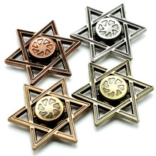 Buy 4 Colors Hexagram Fidget Spinner Metal Finger Beyblade Spinning Top Toy Children Adult Hand Spiner Gyro Antistress Autism for $9.36 in AliExpress store