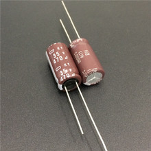 10pcs 470uF 35V NIPPON NCC KY Series 10x20mm Low impedance Long Life 35V470uF Aluminum Electrolytic Capacitor