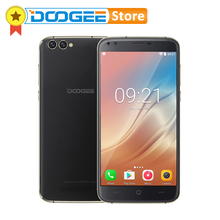 Original DOOGEE X30 Android 7.0 2GB RAM 16GB ROM 5.5'' 2.5D Glass Screen MTK6580 Quad Core Smartphone 4 Cameras 3G WCDMA Phones