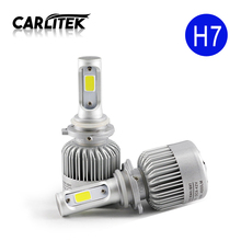 Buy 2Pcs H4 LED H7 H11 H1 H3 9005 9006 COB Q2 Auto Car Headlight 72W 8000LM High Low Beam Automobiles Lamp Xenon white 6500K Bulb for $21.08 in AliExpress store