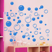 Fashion 10 Pcs/Lot Bubbles Wall Art Sticker Bathroom Window Shower Decor Decoration Kid Car Stickers Home Decor Room A1 S2