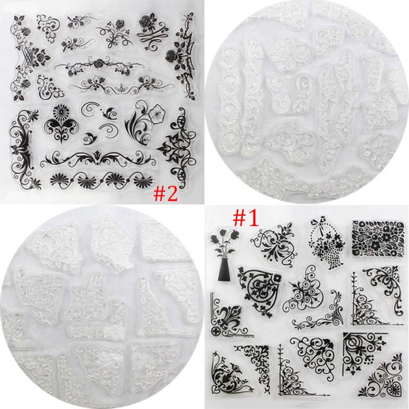 Transparent Clear Stamp Flower Vine DIY Scrapbooking Card Making Christmas Decoration Supplies Hot Sale<br><br>Aliexpress