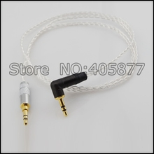 High Quality Silver Plated 3.5mm Male to Male Right Angle Head Stereo Jack Audio AUX Wire Cable Cord