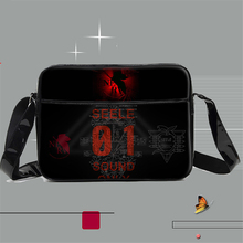 Anime Neon Genesis Evangelion EVA Cartoon Shoulder Bag Boys Girls Teenagers Students School Messenger Bags