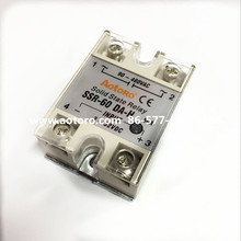 solid state relay SSR-60DA 60A max current UPS shippment quality guaranteed(China)