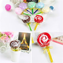 2017 Hot New Cute MINI Lollipop Baby Bridal Cotton Washcloth Towel Party Wedding Xmas Gift Randomly Colorful