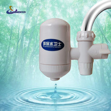 YJ HUMIDIFIER Water Filter Home Kitchen Health Healthy Ceramic Cartridge Tap Faucet Water Filter Purifier High Technology White
