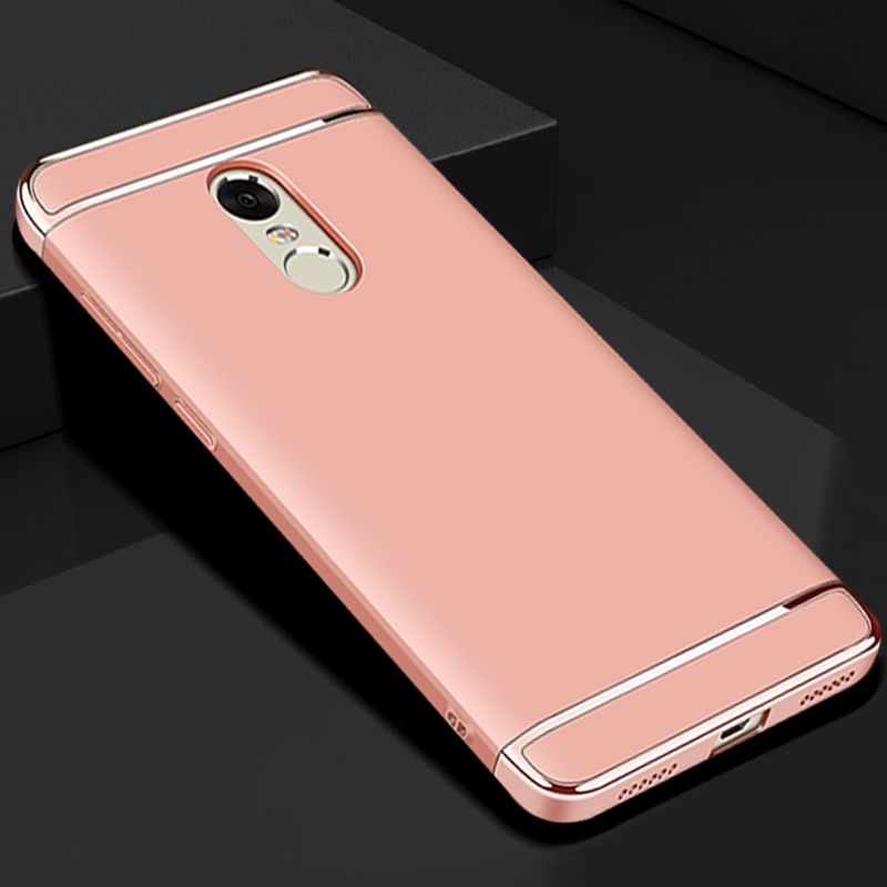 luxury gold hard plastic back coque,cover,case for xiaomi redmi note 4x 3 in 1 original phone accessories for xiomi note4x 4 x