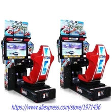 Amusement Equipment Outrun Coin Operated Video Arcade Machine Driving Simulator Car Racing Games