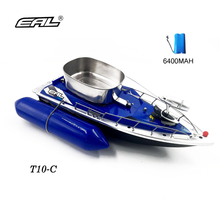 EAL 6400MAH rc fishing bait boat 280M Remote Fish Finder fishing boat Lure boat RC boat 300M Remote Control(China)