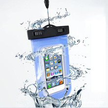 Universal 3.5mm Waterproof Swimming Phone Cover Against Water Dry Case Bag for Cell Phones Smartphone Mobile Phone