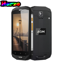 "Original AGM A8 SE IP68 Waterproof 5.0""HD 8MP smartphone 2GB+16GB QUALCOMM MSM8916 Water Dust Shock Proof 4G Mobile Phone(China)"