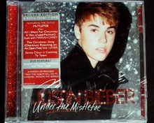 Justin Bieber - Mistletoe USA CD+DVD SEALED Deluxe Edition Jewel case damaged 41CD Store store