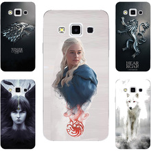 Game Of Throne House Targaryen Hard PC Painting Case For Samsung Galaxy J3 2016 A3 A5 A7 A8 Core i8262 i8260 Phone Printed Cover