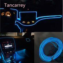 2017 new style Car styling LED decorative strip FOR subaru vw golf 5 golf mk4 lada bmw e36 ssangyong audi a4 b5 Accessories(China)