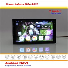 Car Android GPS Navigation System For Nissan Lafesta / Note E11 / Latio 2004~2012 - Radio Stereo Multimedia Video No DVD Player