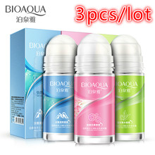3pcs 3 Fragrance Antiperspirant Ball Body Lotion Essence Vitality Chill Refreshing Perfume Liquid Ball Body Odor Approval