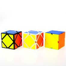 Cubo Magico Skewb Speed Cube Hand Spinner Fidget Toys Twist Gifts Neokub Mini Plastic Skewb Magic Cube Puzzle Game Cubes 601960(China)