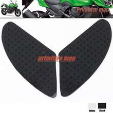 For KAWASAKI Z750 Z1000 2007 2008 2009 Tank Traction Pad Side Gas Knee Grip Protector 3M Black