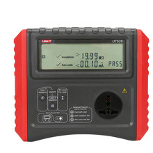 UT528 Safety Testers Battery Powered PAT Meter Insulation/Ground Resistance Tester+Cord Test+Out with Testing+Leakage Test(China)