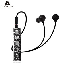 Aniwk Crack Bluetooth V4.2 Headset Self-timer Stereo Wireless  fone de ouvido Sport Earphone With Microphone Magnetic For phone