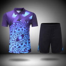 New Badminton clothes sets Men/Women,  Badminton sets , sports table tennis uniforms , Badminton shirt + shorts  203AB