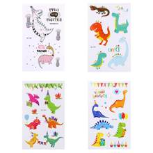 1pc Waterproof Body Art Tattoo Water Transfer Sticker Number 0 to 9  Butterfly Lovely Dinosaur Fake Temporary Tattoos Sticker c45afe697331