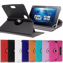 "For PiPO S3 Pro/S1 Pro 7"" Inch 360 Degree Rotating Universal Tablet PU Leather cover case Free Pen"
