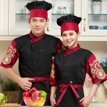 Western Restaurant Chef Jacket  Men Hotel Food Service Chef Uniform Women Coffee Shop Cook Clothing for Kitchen Work Wear