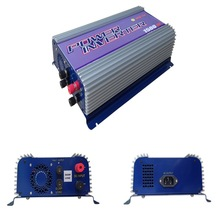 MPPT 1500W ON Grid Tie Inverter with Dump Load for DC Wind Turbine 45-90V DC 1500Watt DC Wind Turbine  Pure Sine Wave Inverters