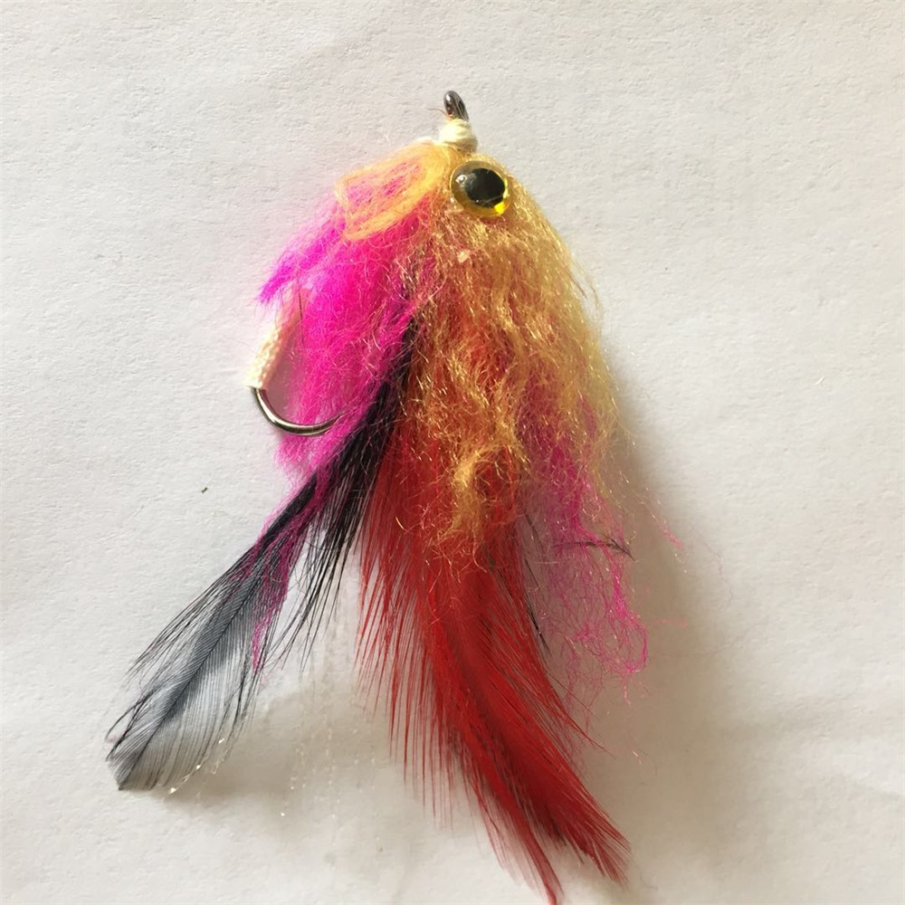 Hooks Artificial Steelhead Bunny Tail  Bionic Bait Fly Trout Fishing Lures