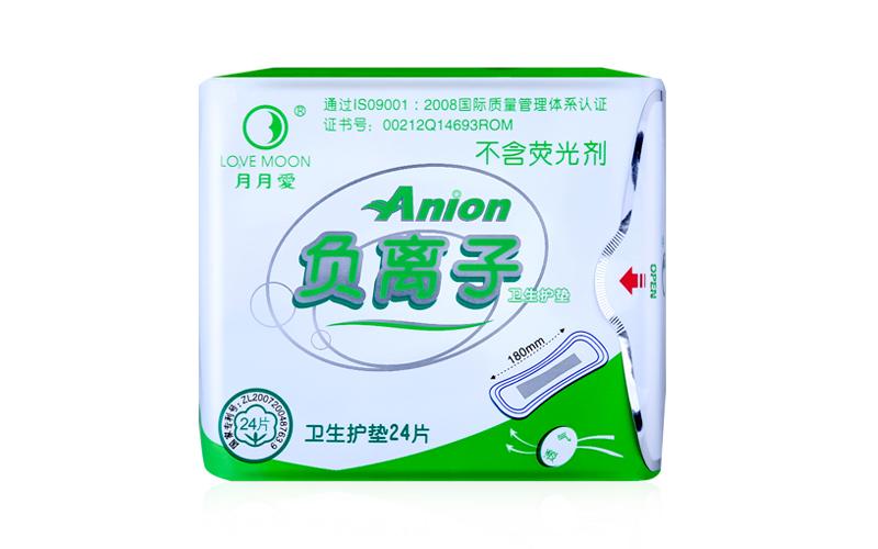 10 pack love moon anion sanitary pads feminine hygiene product anion pads winalite anion love moon strip panty liner 13
