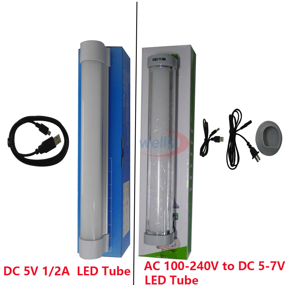 new Easy to Carry SMD 5730 outdoor Camping LED Tube Multi-function Wireless Daylight lamp Rechargeable Emergency Lights DC 5-7V<br>