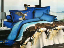 Animal Pattern 100% cotton bed set bedding set king size bedcover 3d bedding set luxury Duvet / quilt cover sets