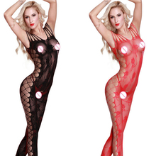 Buy Sexy Lingerie Open Crotch Hot Erotic Underwear Lenceria Femenina Porno Body Stocking Transparent Lingerie Sexy Costumes Qq193