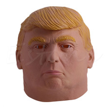 1PC Donald Trump Halloween Mask Billionaire Presidential Costume Latex Cospaly