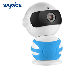 SANNCE Robot IP Camera 960P WiFi Wireless IP Camera CCTV Security Camera Two Way Audio Baby Monitor Easy QR CODE Scan Connect