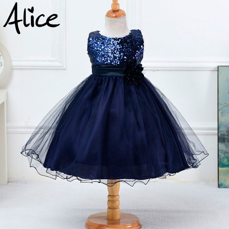 Hot Summer Flower Girls Dress For Wedding And Party Infant Princess Girl Dresses Toddler Costume Baby Kids Clothes robe fille Z2<br><br>Aliexpress