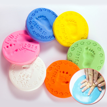 2pcs/lot AVATON Playdough Baby Care Air Drying Handprint Footprint Imprimt Kid Casting DIY Tool Soft Plasticine Polymer Clay Toy(China)