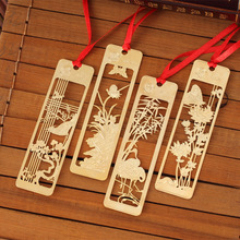 New Cute Kawaii Beautiful Chinese Style Vintage Exquisite Metal Bookmark for Book Creative Item Gift Package Free shipping 1224