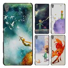 The Little Prince and the fox Style Case Cover for Sony Ericsson Xperia X XZ XA XA1 M4 Aqua E4 E5 C4 C5 Z1 Z2 Z3 Z4 Z5