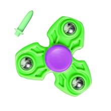 Pop Tri-Spinner Toy Plastic EDC Fidget Spinner For Autism and ADHD Anxiety Stress Relief Fidget Focus Toys
