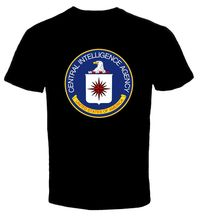 2017 New Arrival Brand-Clothing Funny Clothing Casual Short Sleeve Tshirts Central Intelligence Agency Cia T Shirt Creator(China)