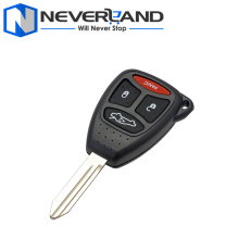 Auto Car Remote 3+1 Button Key Case Shell 4 button for Chrysler Dodge JEEP Commander Grand Cherokee Replacement D20