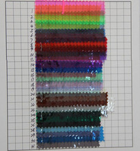 Quality colored transparent PVC material/ for Bags, shoes, belts, household/ new PVC fabric/ transparent plastic(China)