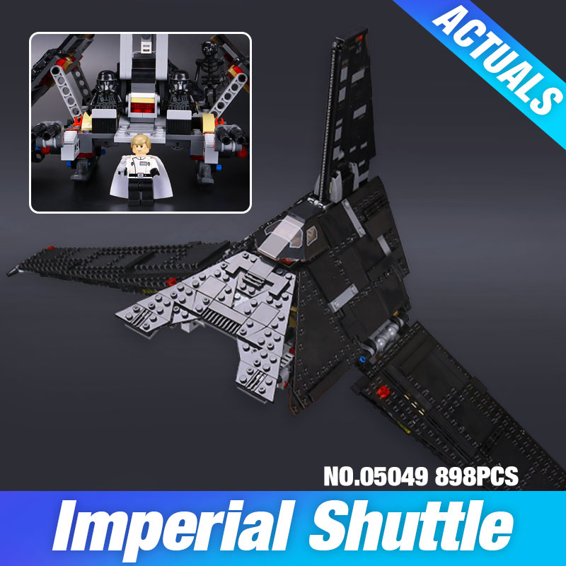 Nova 898Pcs Lepin 05049 Star War Series The Imperial Shuttle Building Blocks Bricks  Toys Compatible with 75156<br><br>Aliexpress